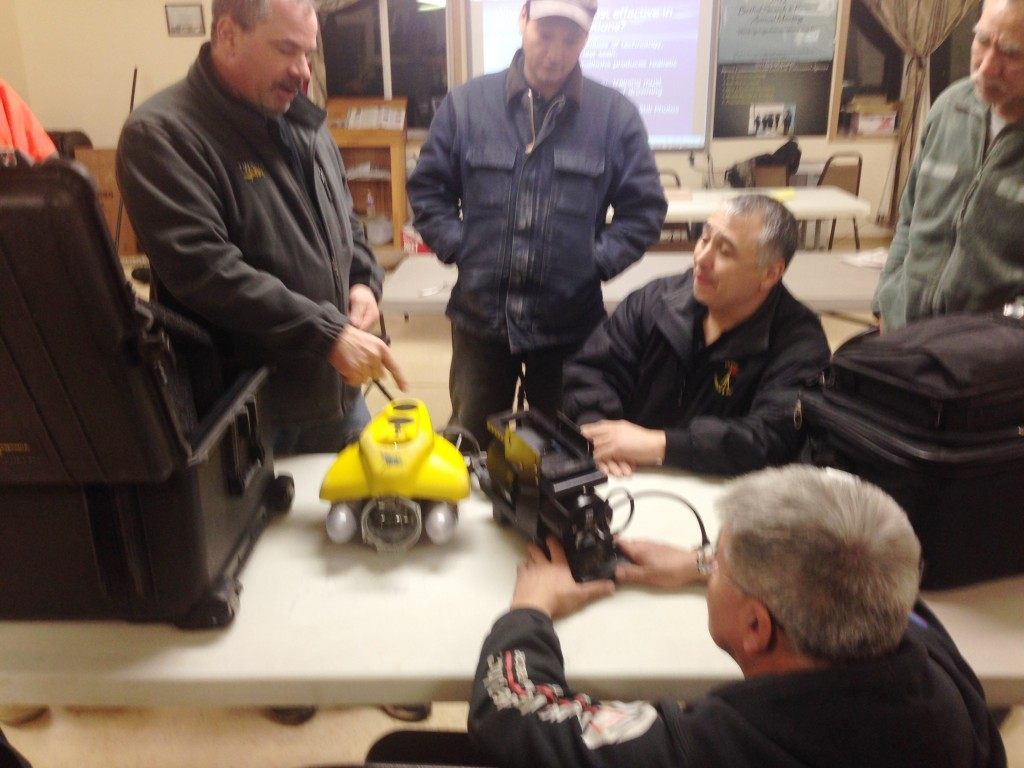 ROV from Wisconsin recently used for recovery operations in Kuskokwak Slough