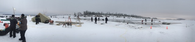 12-2 Panoramic View of the recovery area just downstream of McGrath